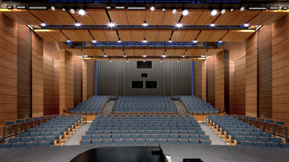 Main Hall Stage View