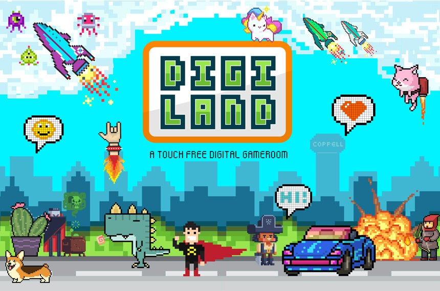 More Info for Digi Land Experience, a Touch Free Digital Game Room
