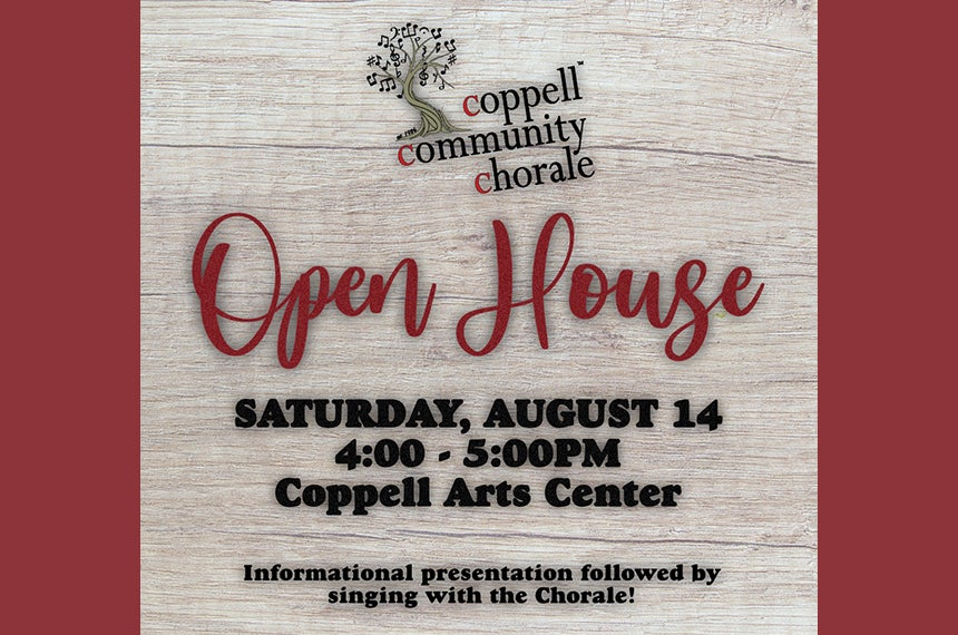 More Info for The Coppell Community Chorale: Open House